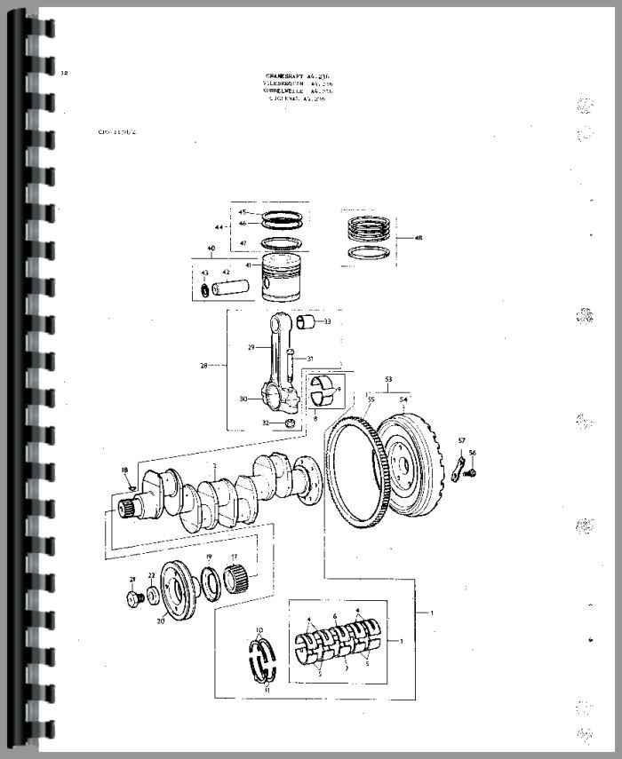 massey ferguson 175 tractor parts manual