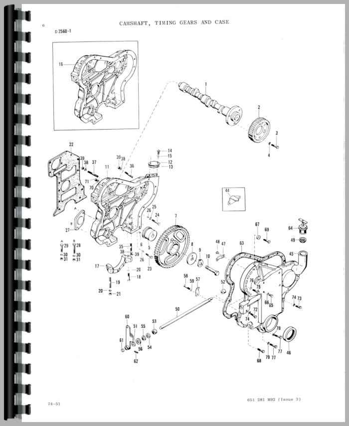 massey ferguson 20 industrial tractor parts manual