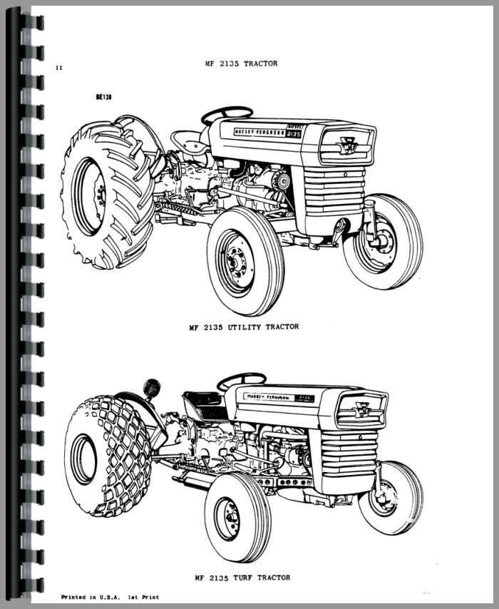 Massey Ferguson Industrial Backhoe Parts : Massey ferguson industrial tractor parts manual