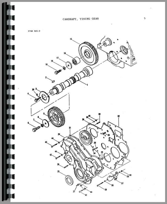 Massey Ferguson 220 Tractor Parts Manual
