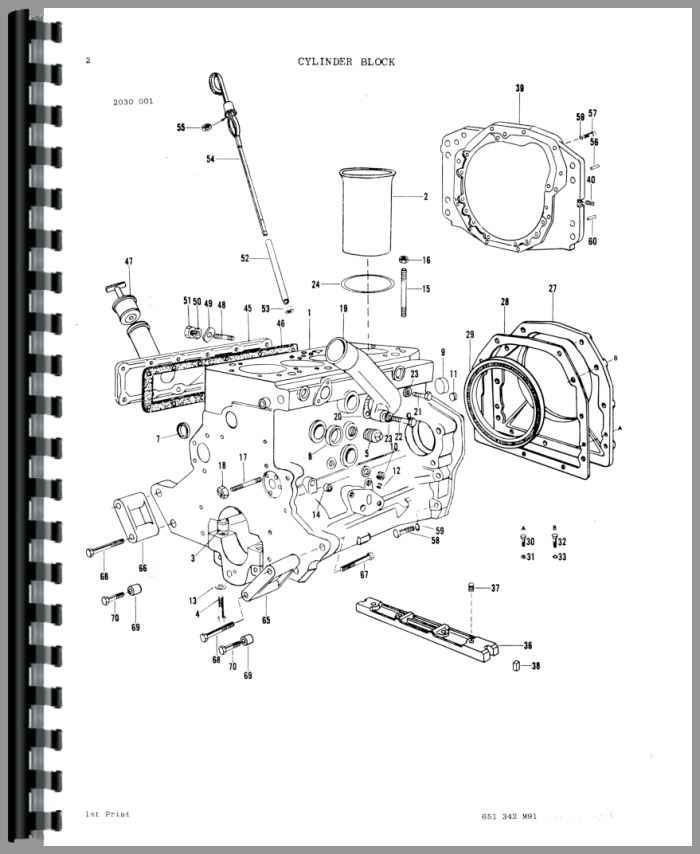 ford 3910 electrical diagram