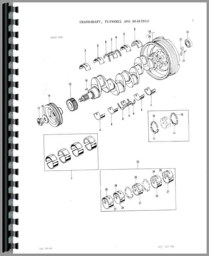massey ferguson 285 tractor parts manual rh agkits com Massey Ferguson 253 Wheel Color Massey Ferguson 285 Steering Diagram