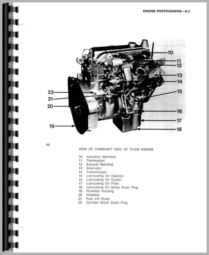 Massey Ferguson 3070 Engine Service Manual