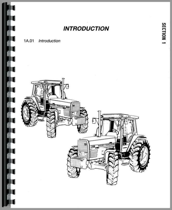 massey ferguson 3070 tractor service manual