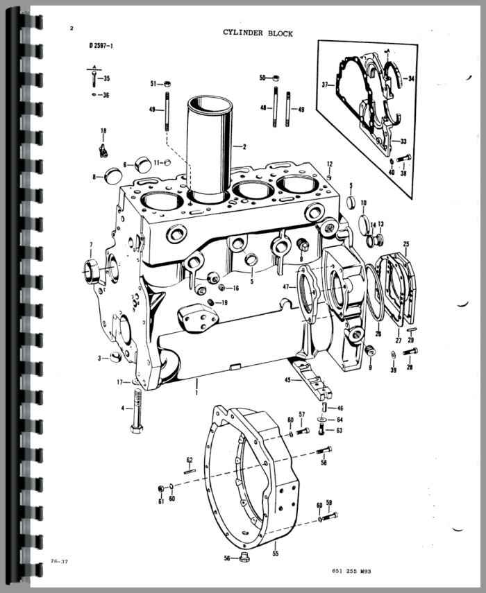 massey ferguson 33 industrial tractor parts manual