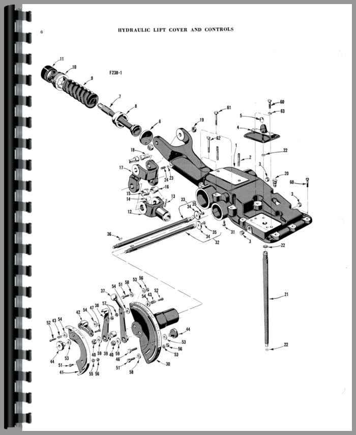 Ferguson 35 Parts : Ferguson tractor parts manual