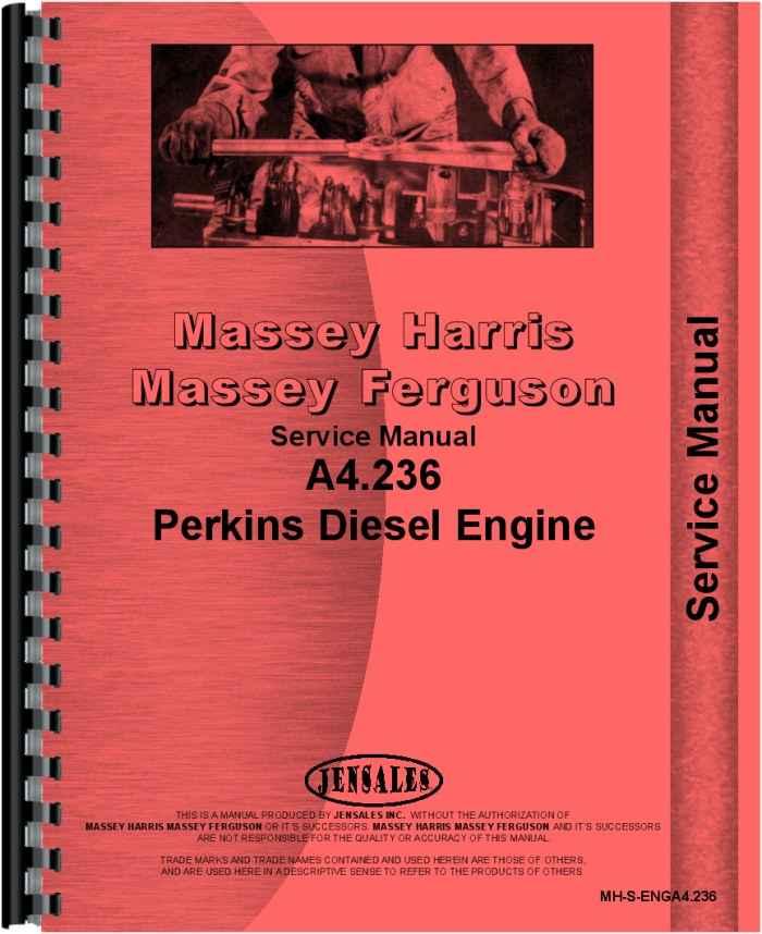 massey ferguson 384s engine service manual