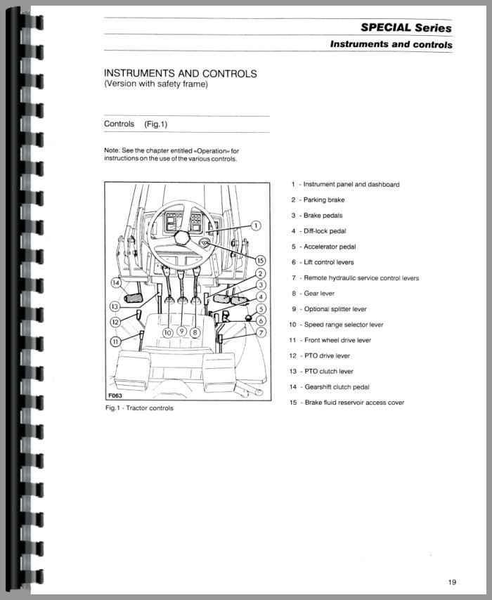 Massey Ferguson 384S Tractor Operators Manual (HTMH-OMF354GE)