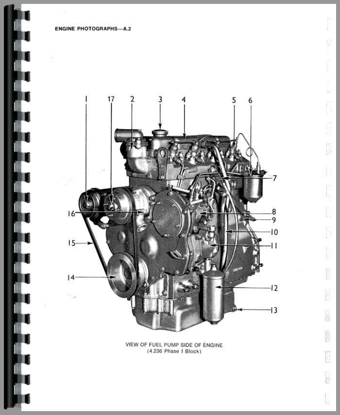Massey Ferguson 390 Engine Service Manual Htmh Seng4 212