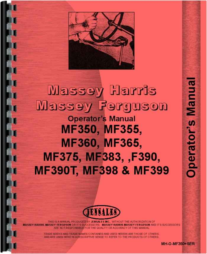 massey ferguson 1533 owners manual