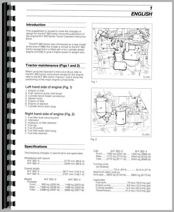 massey ferguson 390 manual pdf