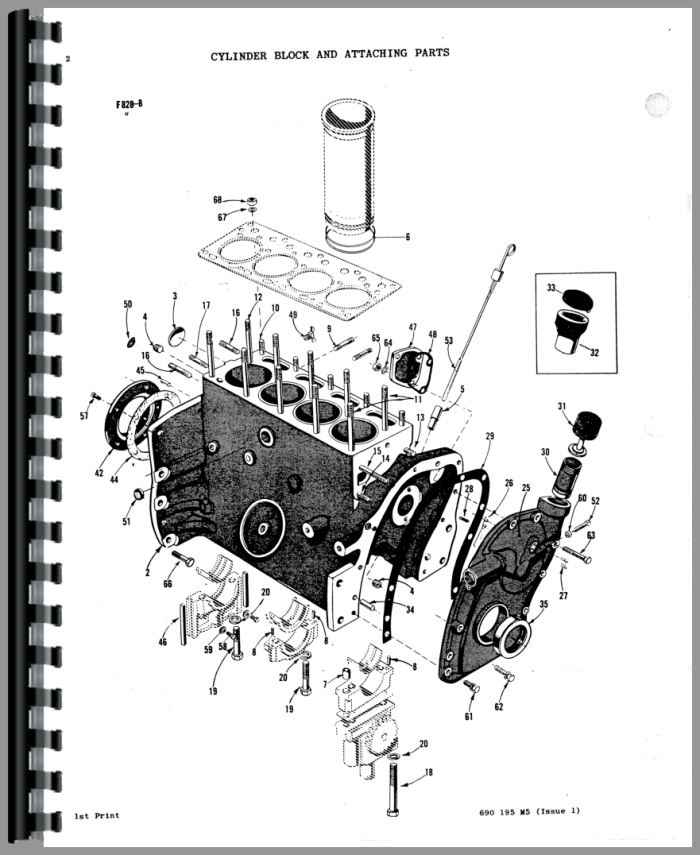 massey ferguson 50 tractor parts manual