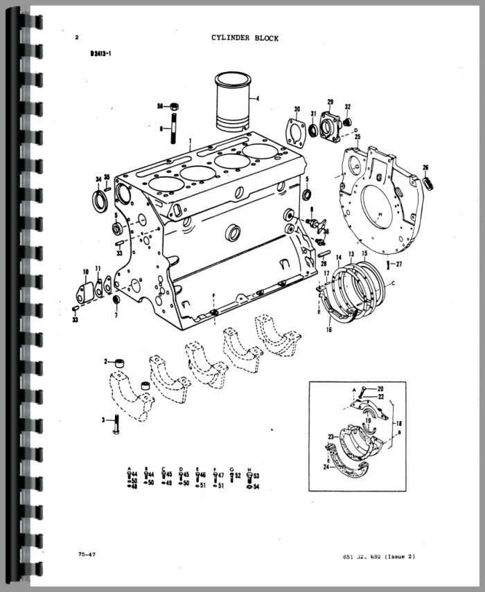 Massey Ferguson Mf 50 Parts : Massey ferguson a industrial tractor parts manual