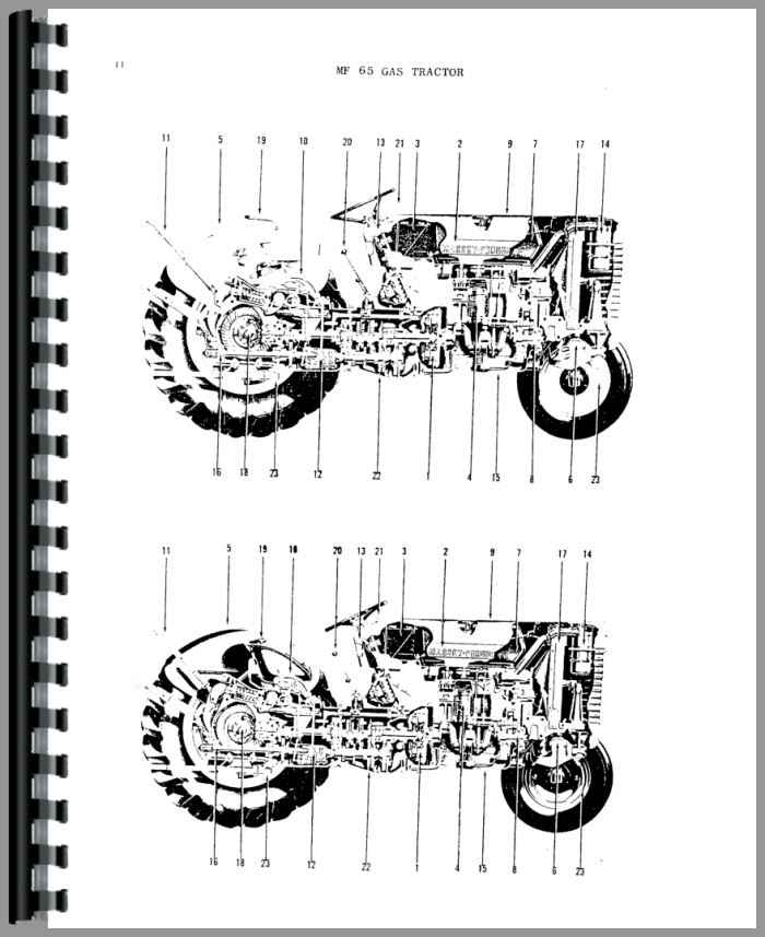 Massey Ferguson 65 Parts List : Massey ferguson tractor parts manual