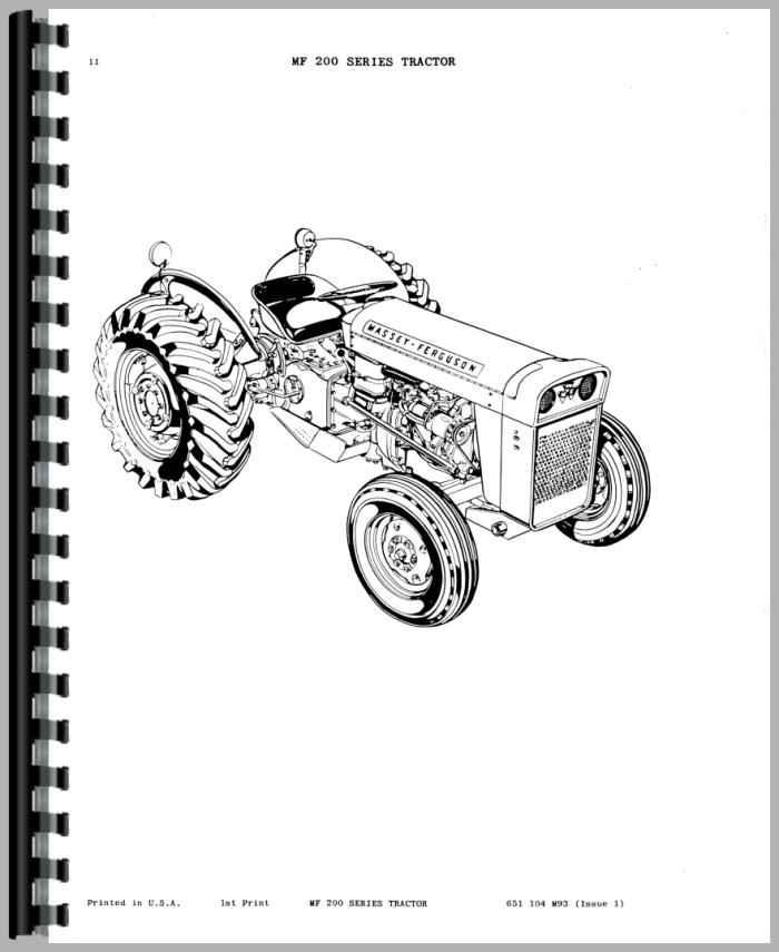 Massey Ferguson Transmission Parts : Massey ferguson tractor parts manual