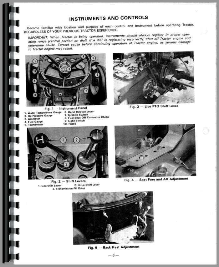 Massey Ferguson 230 Tractor Operators Manual