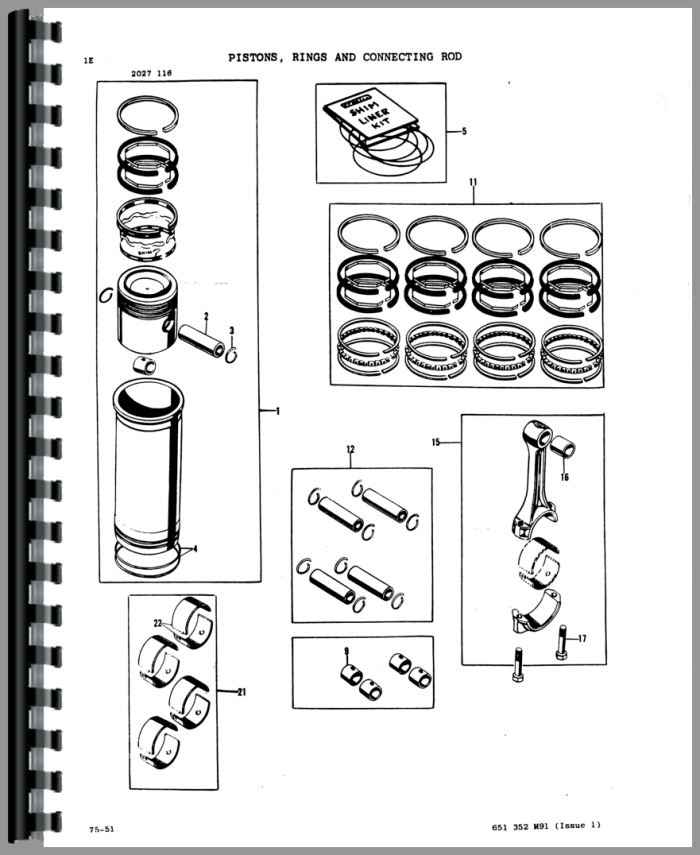 Massey Ferguson 235 Tractor Parts Manual