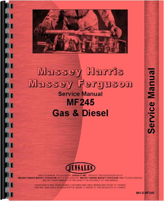 massey ferguson 245 tractor service manual rh agkits com Massey Ferguson 245 Parts Diagram Massey Ferguson 245 Parts Diagram
