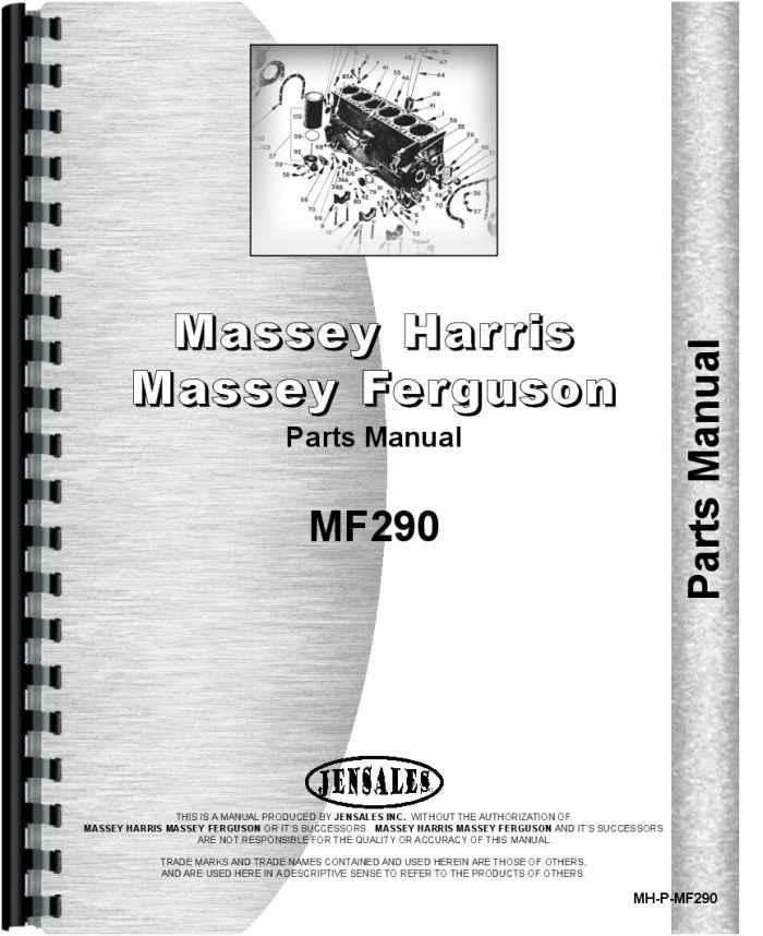 massey ferguson 290 tractor parts manual rh agkits com stihl 290 parts manual stihl 290 parts manual