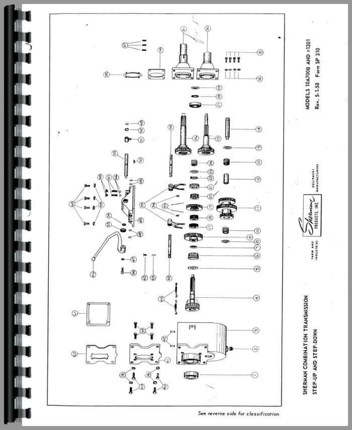 ferguson te20 sherman transmission service manual rh agkits com ferguson te20 parts manual 1948 Harry Ferguson to 20
