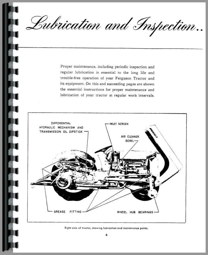 Ferguson TEA20 Tractor Operators Manual (HTMH-OMFTO20)