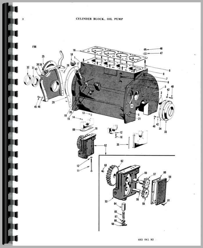 ferguson tea20 tractor parts manual