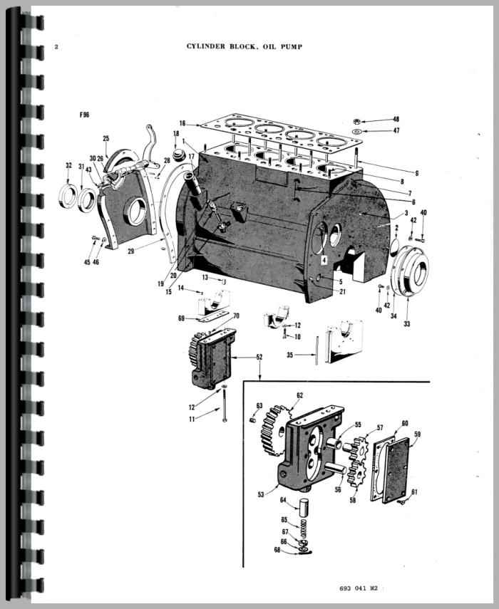 Ferguson TO30 Tractor Parts Manual
