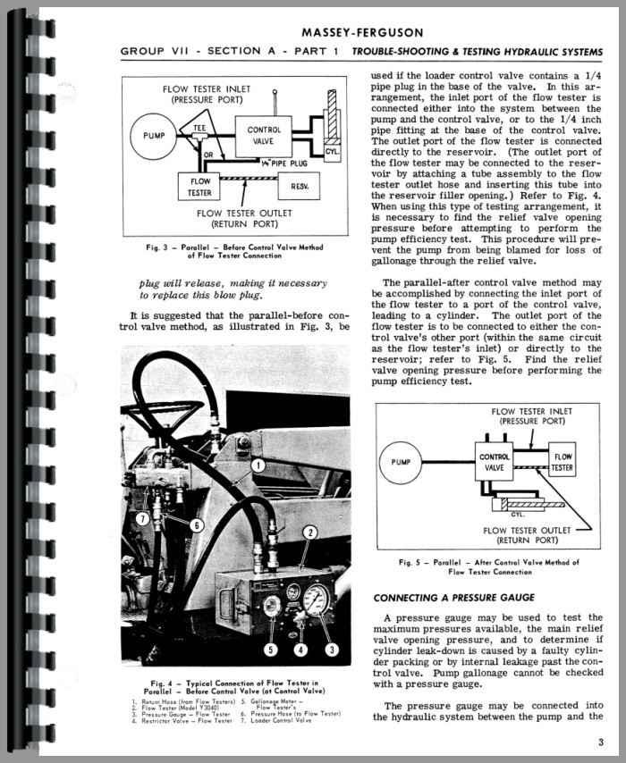 massey ferguson to35 parts manual