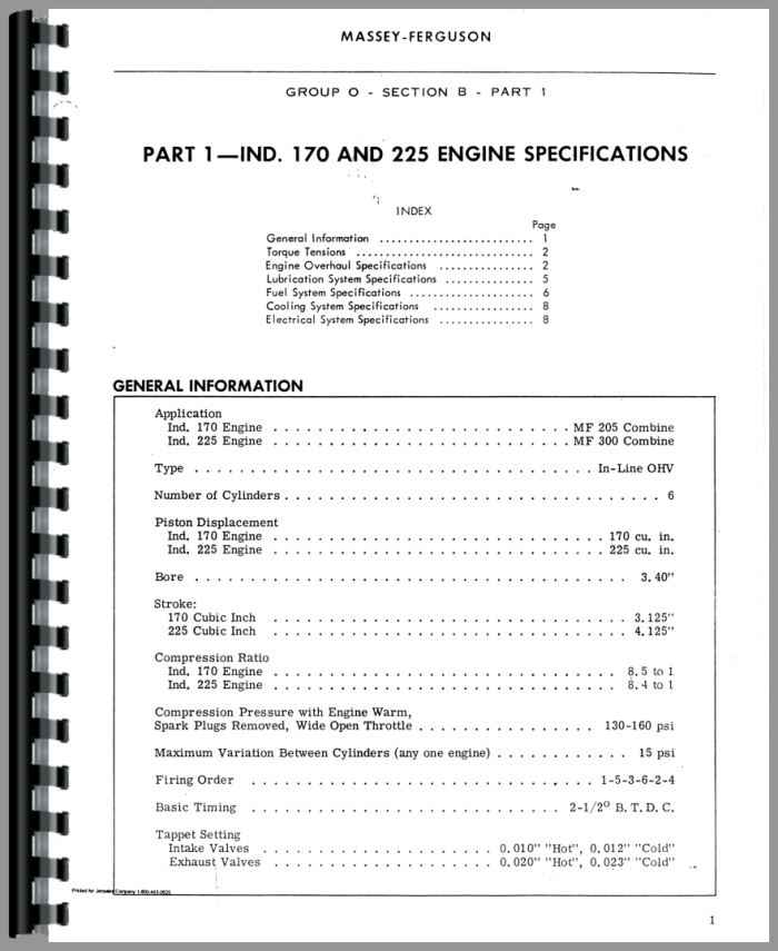 massey harris all continental z134 service manual rh agkits com Z134 Continental Engine Distributor Continental Z134 Oil Filter