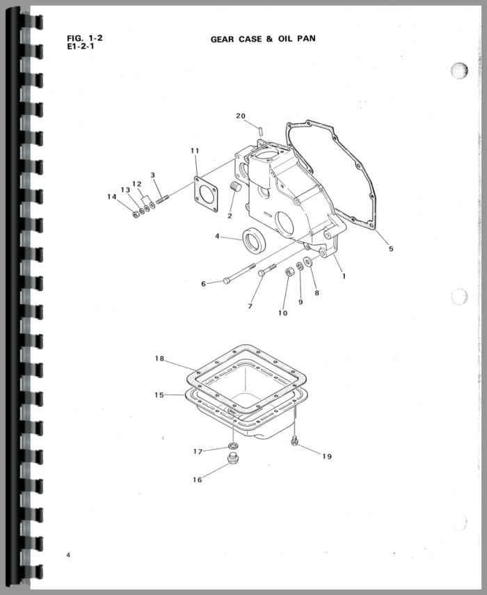 mitsubishi d1300 tractor parts manual