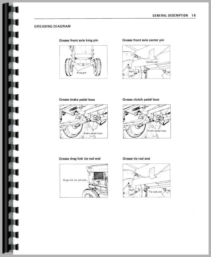 743847 Free Mitsubishi Tractor Service Manual 6837797