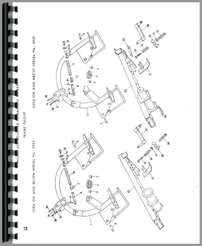 NewHolland 450 Baler Manual_96796_4__30004 new holland 450 sickle bar mower parts manual