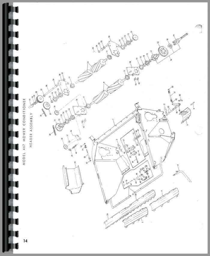 new holland 467 haybine parts manual rh agkits com new holland parts catalog ngpc new holland parts manual for tc30 tractor