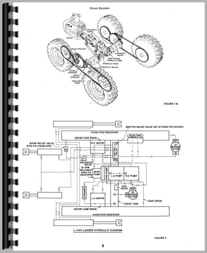 New Holland Parts Cylinder on john deere 445 wiring diagram
