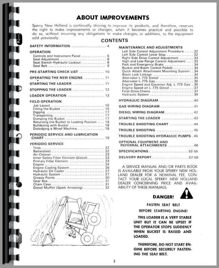 new holland tractor owners manual
