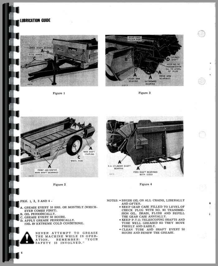 New Idea Spreader Parts : New idea manure spreader operators parts manual