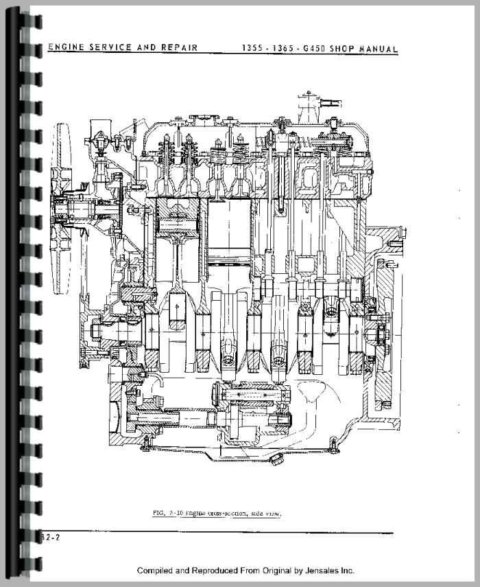 oliver 1365 service manual pdf