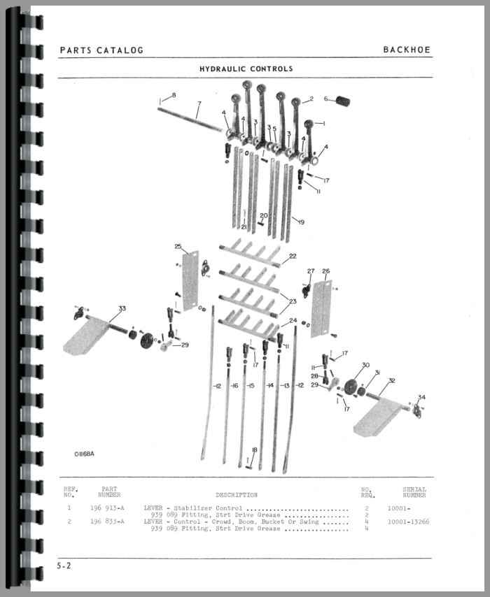 oliver 1650 backhoe attachment parts manual rh agkits com Oliver 1850 Oliver 1550 Tractor