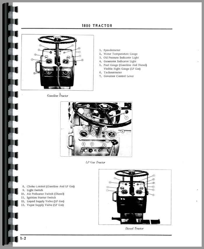1800 oliver tractor manual