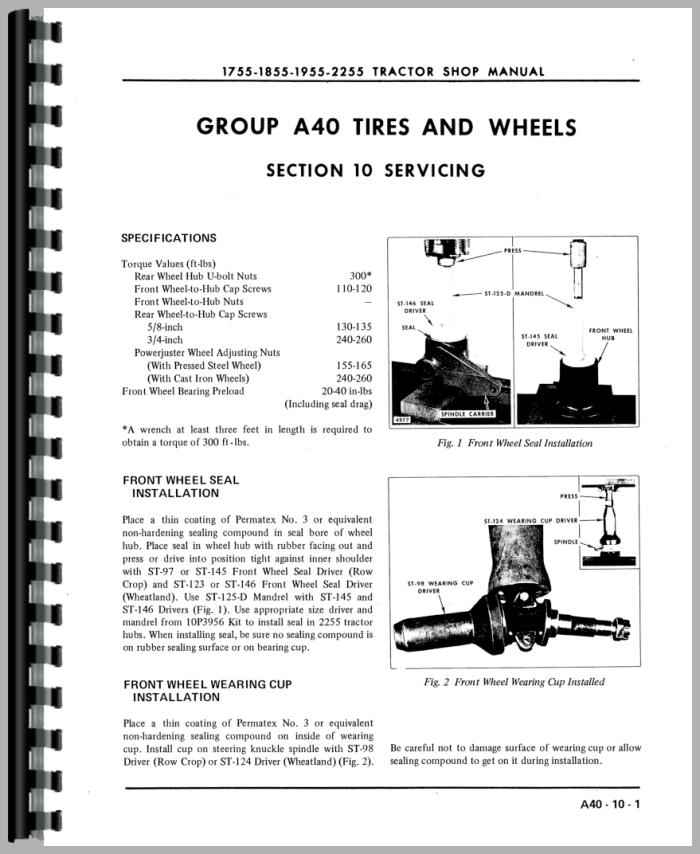 Oliver 1855 Tractor Manual_97282_3__31369 oliver 1855 tractor service manual oliver 1855 wiring diagram at fashall.co