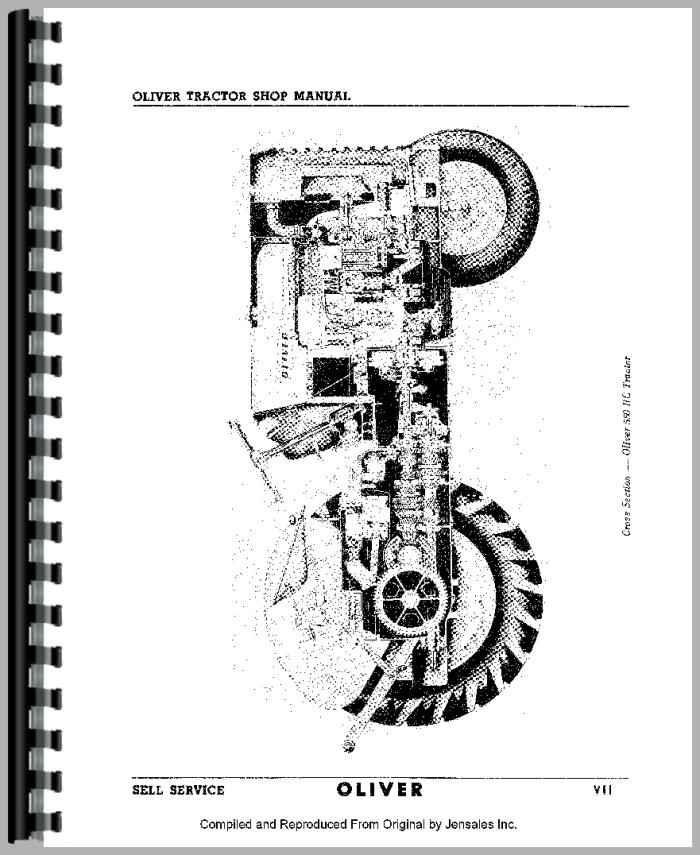 Oliver 550 Wiring Diagram - All Diagram Schematics on
