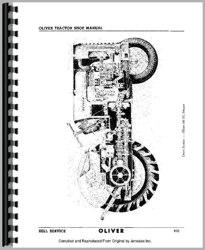 oliver 66 tractor service manual rh agkits com