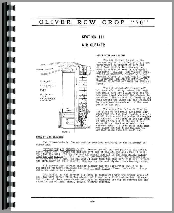 Oliver-70-Tractor-Manual_97425_3__57868 Oliver Tractor Wiring Diagram on international tractor wiring diagram, case 444 garden tractor wiring diagram, allis chalmers 712 garden tractor wiring diagram, fiat farm tractor wiring diagram, ford tractor wiring diagram, minneapolis moline tractor wiring diagram,