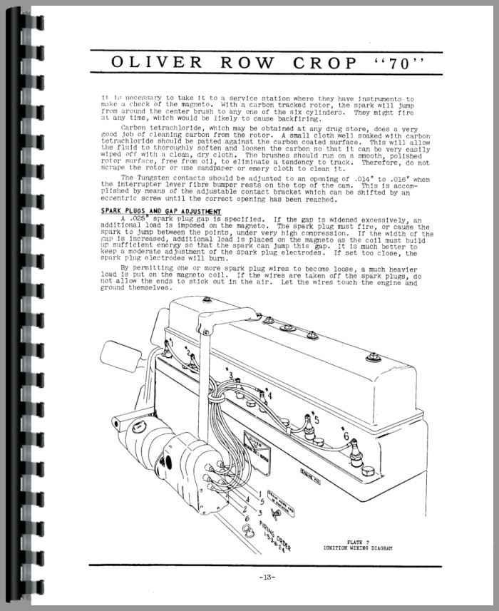 Oliver 70 Tractor Manual_97425_4__03259 oliver 70 wiring diagram oliver 66 wiring diagram, oliver 77 oliver 77 wiring diagram at edmiracle.co