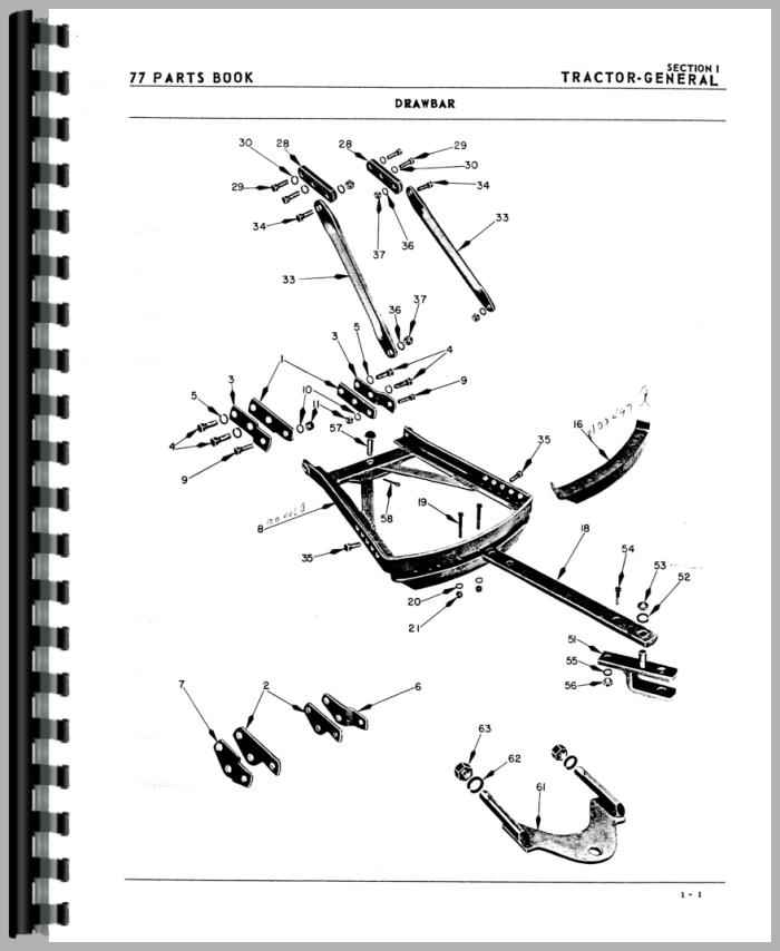 Oliver 77 Tractor Manual_97433_3__95181 oliver 77 wiring diagram ford 8n 6 volt wiring diagram \u2022 free oliver 1600 wiring diagram at gsmportal.co