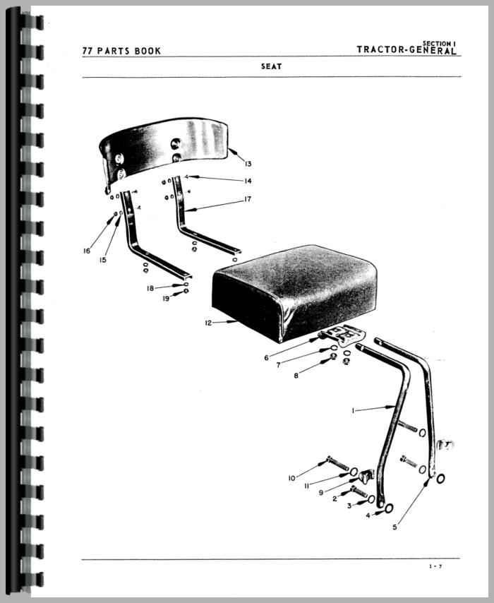 oliver 77 tractor wiring diagram auto electrical wiring diagram u2022 rh focusnews co