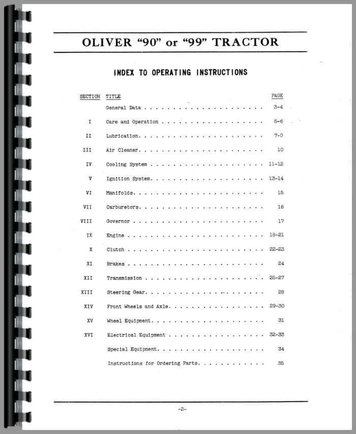 oliver tractor schematics oliver free engine image for user manual