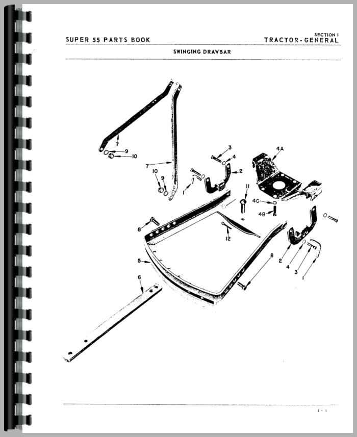 oliver super 55 tractor parts manual rh agkits com oliver super 55 pto parts oliver super 55 shop manual