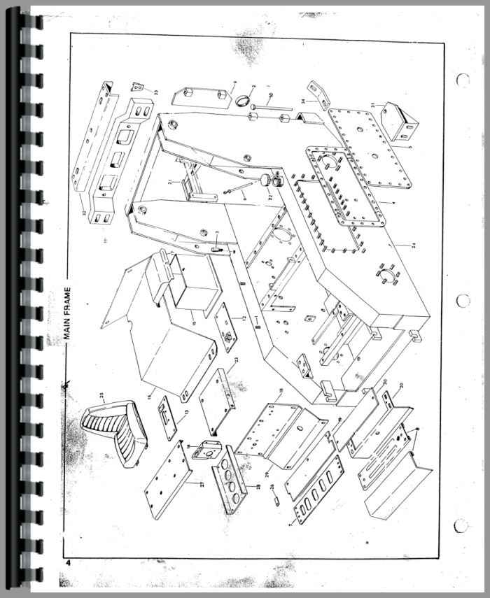 Owatonna 1700 Skid Steer Loader Parts Manual
