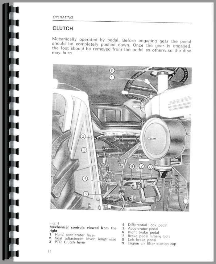 same corsaro 70 tractor operators manual rh agkits com Ford Tractor Manuals Tractor Owners Manuals